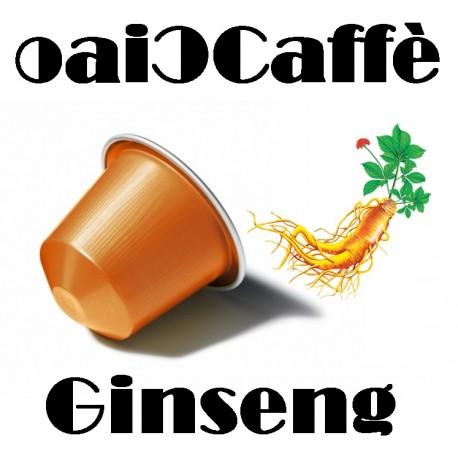 50 Capsule Compatibili Nespresso al Ginseng