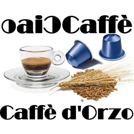 50 Capsule Compatibili Nespresso Orzo