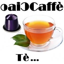50 Capsule di Tè Compatibili Nespresso