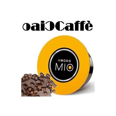 64 Capsule Compatibili Lavazza A Modo Mio Caffè al Cioccolato
