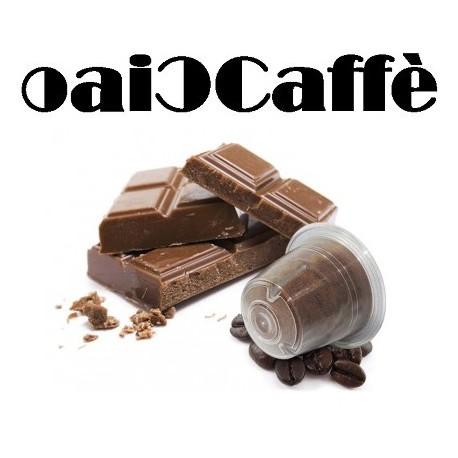 50 Capsule Compatibili Nespresso Caffè al Cioccolato