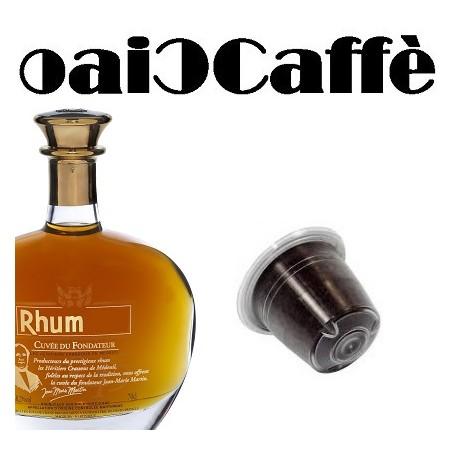 50 Capsule Compatibili Nespresso Caffè al Rhum