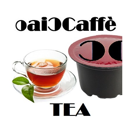 64 Capsule di Tè Compatibili Lavazza Blue