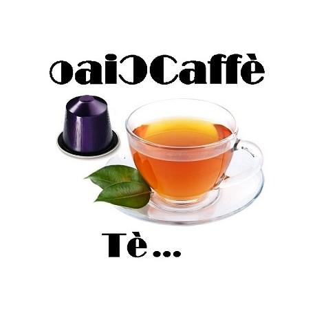 Tea 50 Capsules Compatible Nespresso