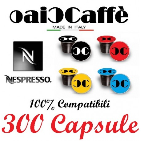 300 Capsules Compatible Nespresso