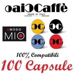 100 Capsules Compatible Lavazza A Modo Mio