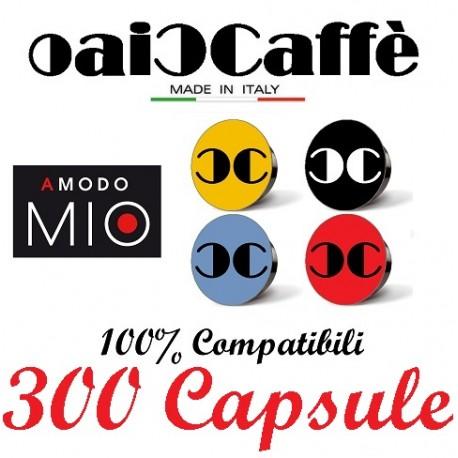 300 Capsules Compatible Lavazza A Modo Mio