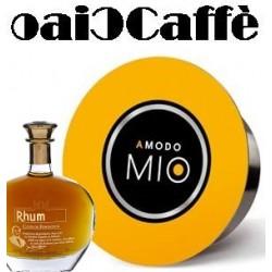 Rhum Coffee 50 Capsules Compatible Lavazza A Modo Mio
