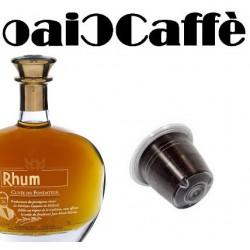 Coffee & Rhum 50 Capsules Compatible Nespresso