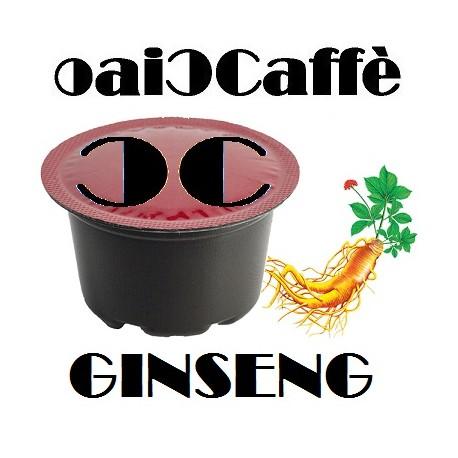 Ginseng 50 Capsules Compatible Lavazza A Modo Mio