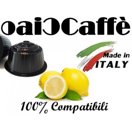 Lemon Tea 50 Capsules Compatible Dolce Gusto